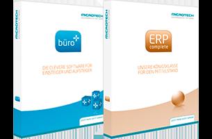 büro+ und ERP-complete Produktverpackung | microtech.de