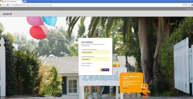 cateno e-Commerce Login | microtech.de