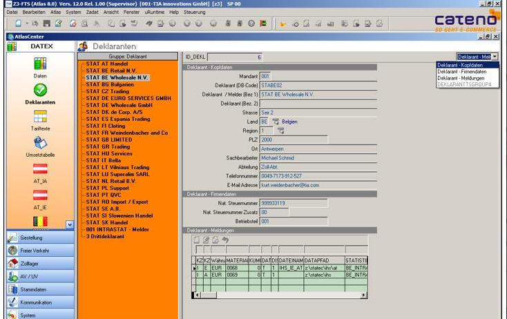 cateno Z-Intra Screenshot | microtech.de