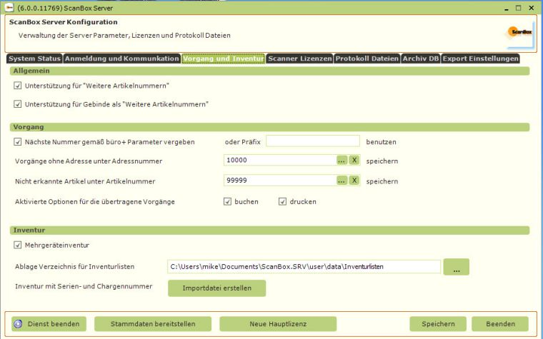 ScanBoxServer-Manager von Klüsener | microtech.de