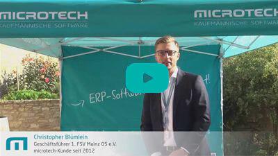 Christopher Blümlein | Mainz 05 | microtech.de