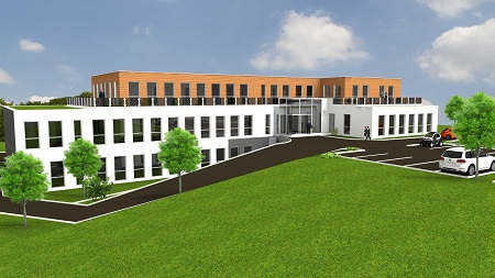Bürogebäude microtech