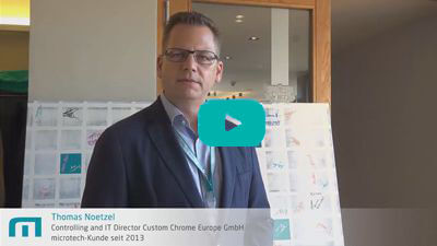 Thomas Noetzel | Custom Chrome Europe | microtech.de