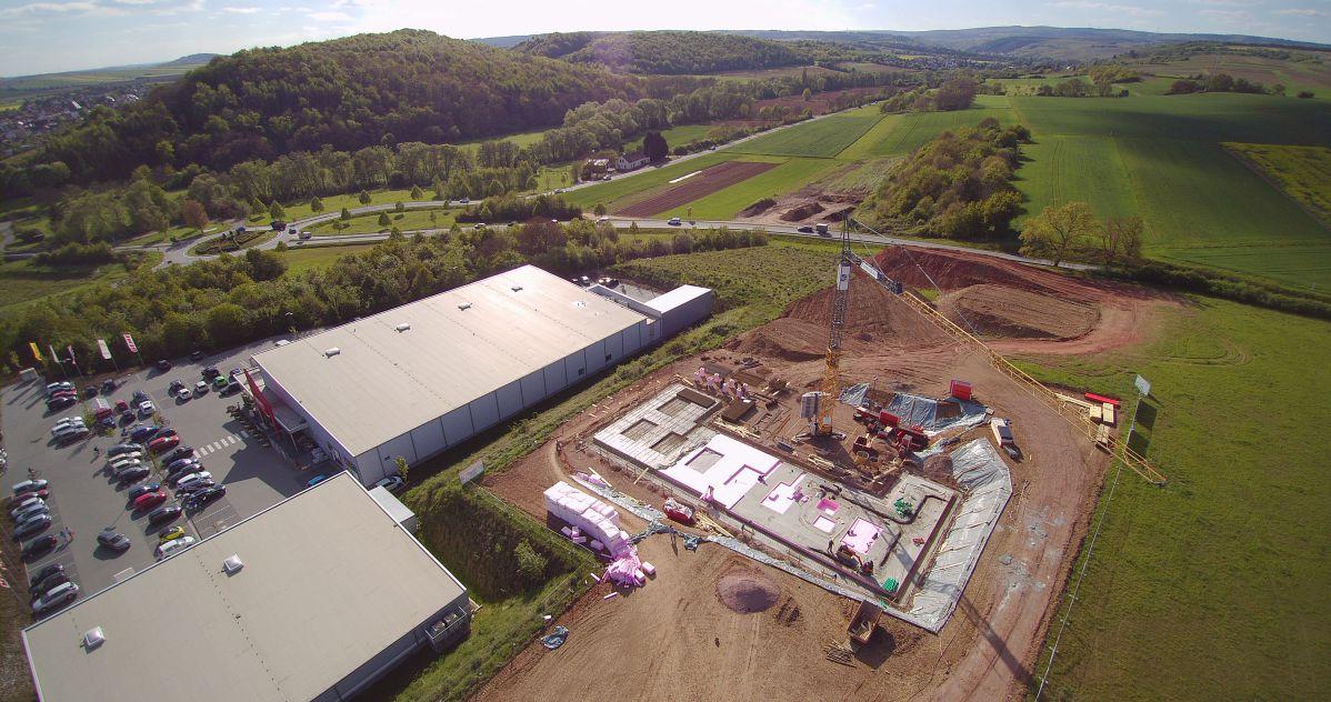 Luftaufnahme fünf von Baugrundstück | microtech.de