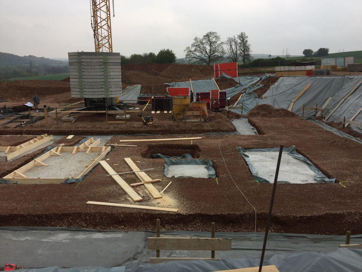 Weitere Ansicht auf dem Bauplatz | microtech.de