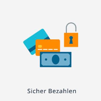 E-Payment | Grafische Darstellung von Sicher Bezahlen mit E-Payment | microtech.de