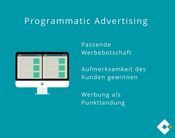 Programmatic Advertising - Werbung geschickt platzieren