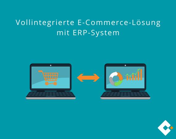 e-commerce-lösung und erp-software
