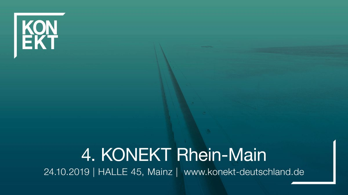 KONEKT Rhein-Main - Halle 45 in Mainz