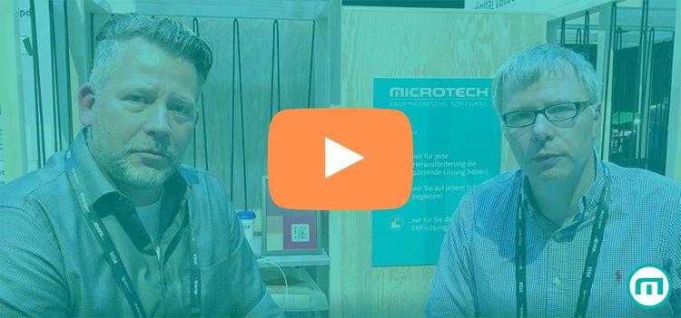 """Ralf Kaufhold und Mark Steier, wortfilter.de auf den eBay Open 2019 in Berlin zum Thema """"Entwicklung im E-Commerce"""""""