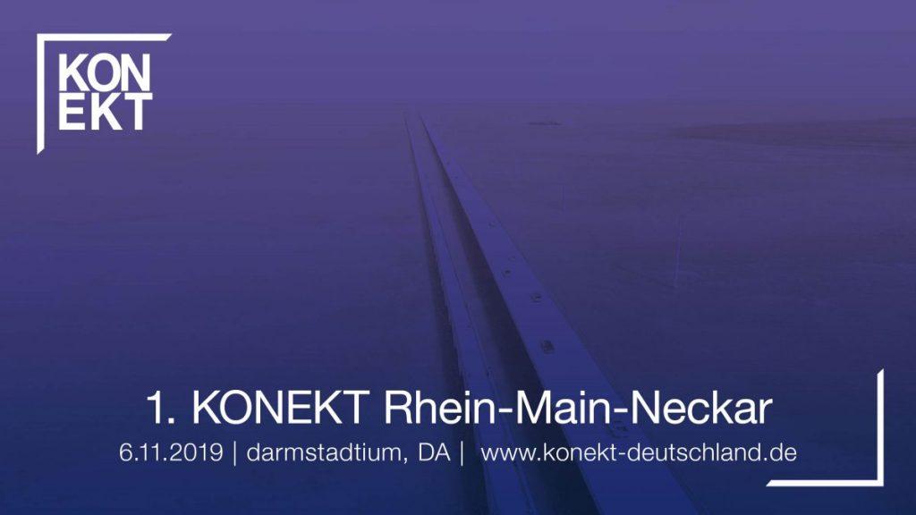 KONEKT Rhein-Main-Neckar - Darmstadtium in Darmstadt