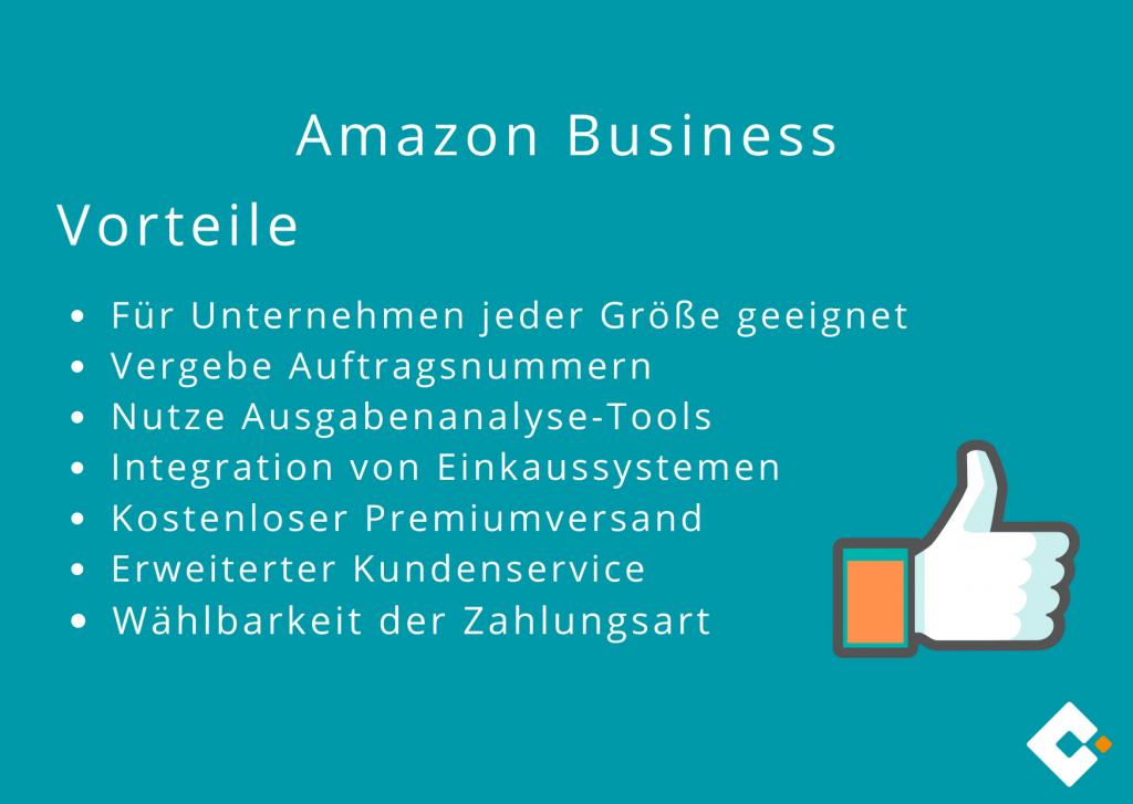 Amazon Business - Vorteile