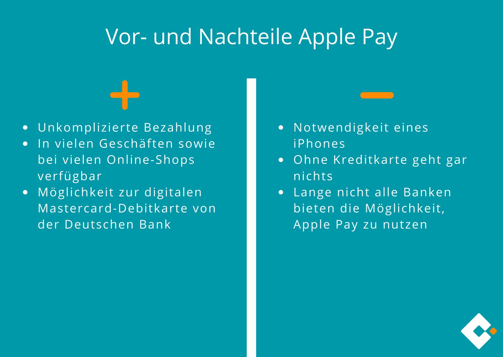 Apple Pay - Vor- und Nachteile