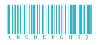 Barcode | Code 128A Abbildung | microtech.de