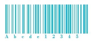 Barcode | Code 128B Abbildung | microtech.de