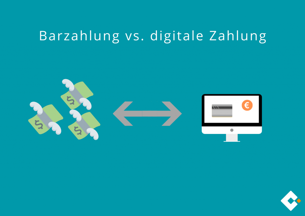 Barzahlung vs. digitale Zahlung