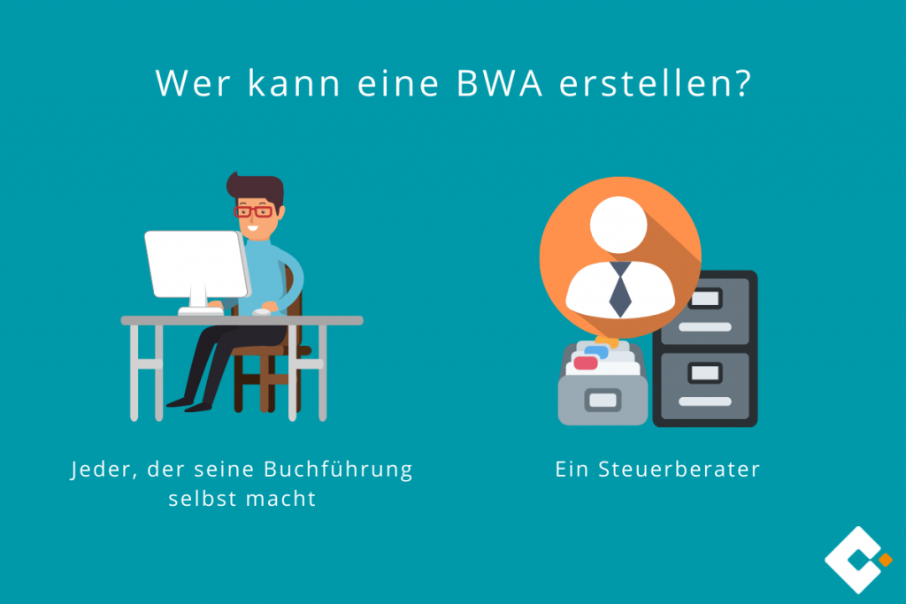 Wer kann eine BWA erstellen?