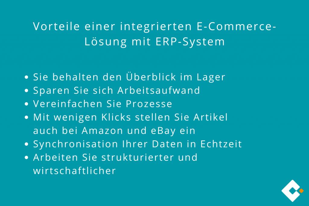 Vorteile einer integrierten E-Commerce-Lösung mit ERP-System