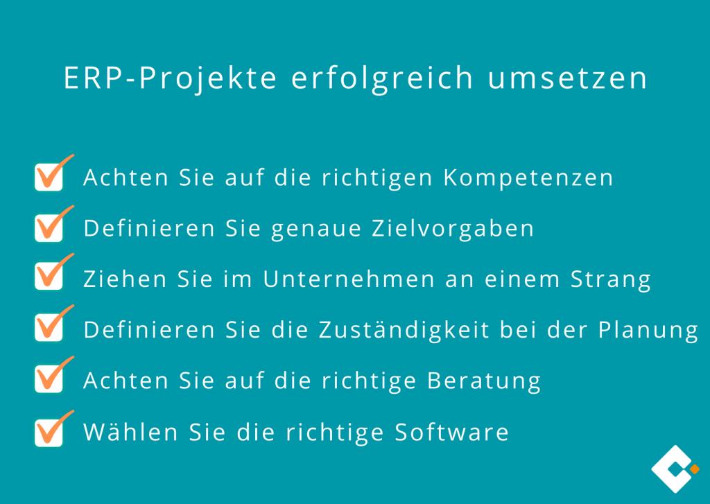 ERP-Projekte erfolgreich umsetzen