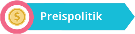 Marketing-Mix | Grafik Preispolitik | microtech.de