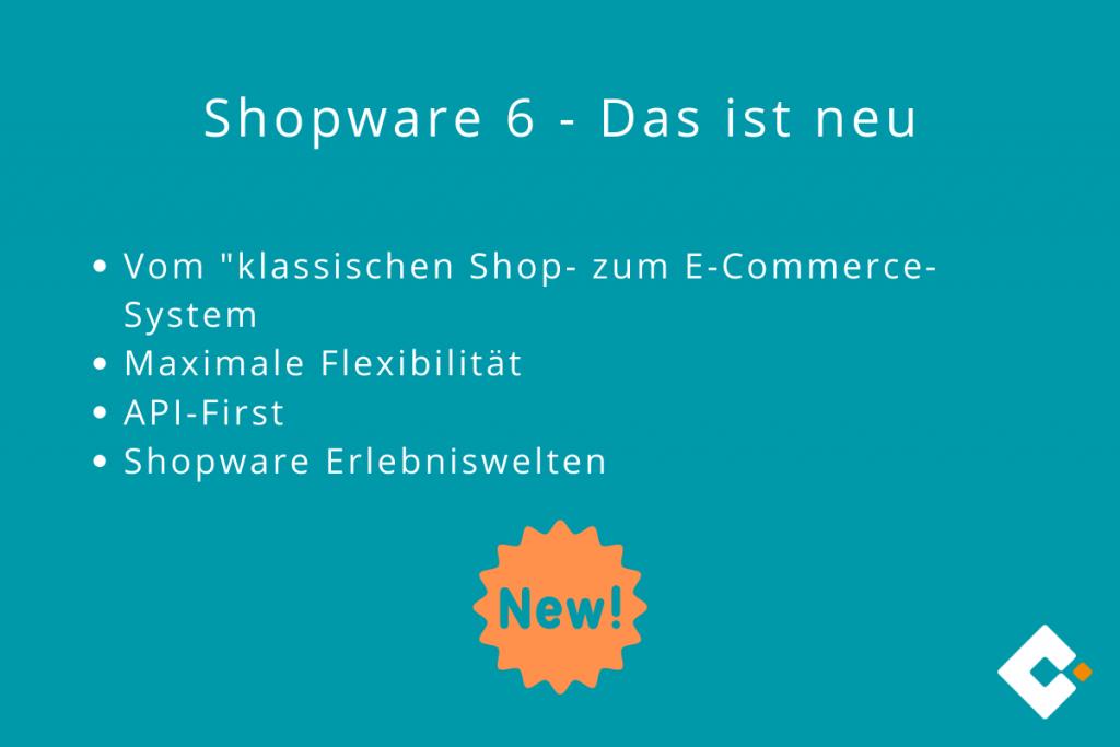 Shopware 6 - Das ist neu