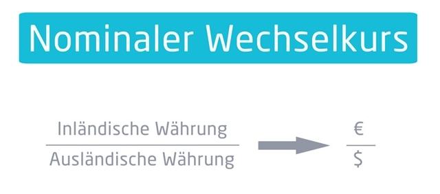 Berechnung nominaler Wechselkurs | microtech.de