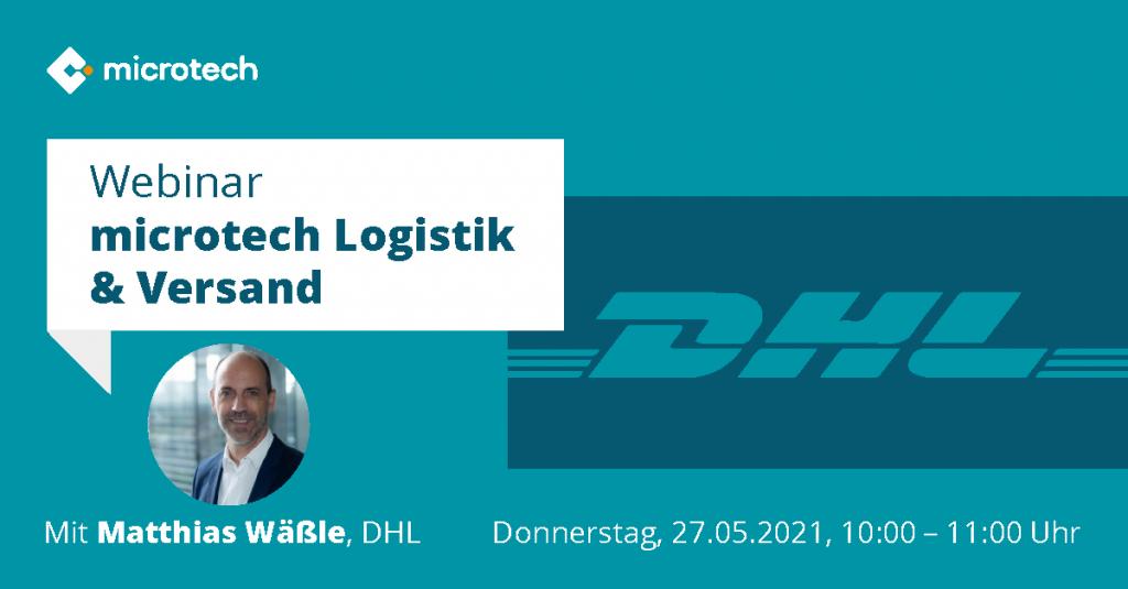 microtech Webinar | microtech Logistik & Versand